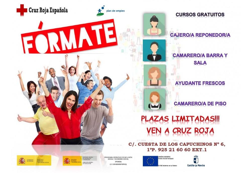 Ayuntamiento De Nambroca Cursos Gratuitos Para Desempleados Cruz Roja Toledo