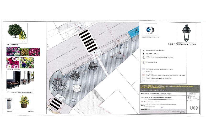 El Ayuntamiento reordenará el espacio urbano en la Calle Cristo